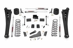 DODGE / Ram - 2013-18 DODGE 3/4 TON - Rough Country - Rough Country 5IN DODGE SUSPENSION LIFT KIT (14-18 RAM 2500 4WD)  **CHOOSE GAS OR DIESEL** - 367.20-373.20