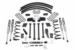 "Ram 1 Ton Pickup - 2000-2002 - BDS Suspension - BDS Suspension 5"" Long Arm Kit for 2000 - 2002 Dodge Ram 3/4 & 1 Ton 4wd Pickup - Gas & Diesel   -219H"