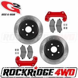 G2 Axle & Gear - G2 CORE BIG BRAKE KIT – FRONT for JEEP WRANGLER JK / JKU 07-18 - 79-2050-1