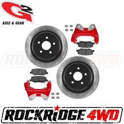 G2 Axle & Gear - G2 CORE BIG BRAKE KIT – REAR for JEEP WRANGLER JK / JKU 07-18 - 79-2052-1