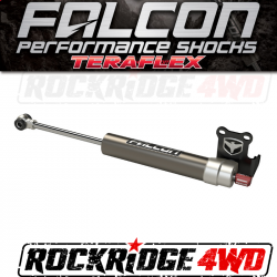 Falcon Shocks - Falcon Nexus EF 2.2 Fast Adjust Steering Stabilizer - Stock Tie Rod for Jeep JL/JLU - 09-02-22-110-000