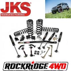 "JKS Manufacturing - JSPEC Suspension Systems - JKS Manufacturing - JSPEC 3.5"" Suspension System | 2018+ Jeep Wrangler JL (4 Door) - 119K"