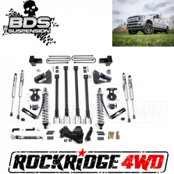 """F250 / F350 - 2017-2019 - BDS Suspension - BDS SUSPENSION 4"""" Coil-Over 4-Link Suspension System 