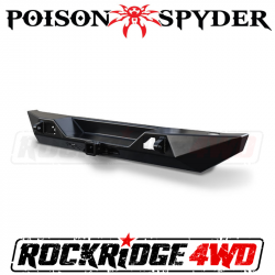 Poison Spyder - Poison Spyder Customs Jeep JL Bruiser Rear Bumper - 19-67-010P1