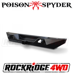 Poison Spyder - Poison Spyder Customs Bruiser Rear Bumper (Black) for 07-2018 Jeep Wrangler JK- 17-67-010P1