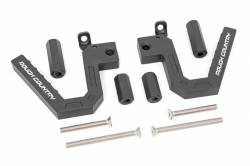 Rough Country - Grab Handles - Rough Country - Rough Country Jeep Front Aluminum Grab Handles (07-18 Wrangler JK)