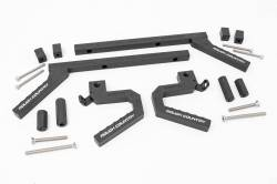 Interior Accessories - Jeep Wrangler JK Specific - Rough Country - Rough Country Jeep Aluminum Grab Handle Set (07-18 Wrangler JK) - 6509