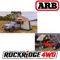 Exterior Upgrades - Jeep Wrangler JK 07-PRESENT - ARB 4x4 Accessories - ARB Series III Simpson Rooftop Tent and Annex Combo - 803804