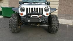 IRON CROSS - IRON CROSS Front Stubby Bumper for Jeep Wrangler JK 07-18 - NO BAR - GP-1000 - Image 5