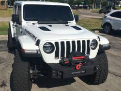 IRON CROSS - IRON CROSS 18-19 JEEP WRANGLER JL STUBBY FRONT BASE BUMPER - GP-1002