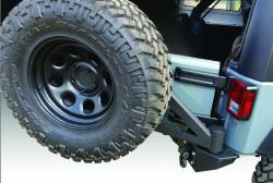IRON CROSS - IRON CROSS 07-18 Jeep JK FULL SIZE REAR BUMPER WITH TIRE CARRIER - GP-2300