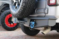 IRON CROSS - IRON CROSS 18-19 JEEP WRANGLER JL STUBBY REAR BUMPER - GP-2002