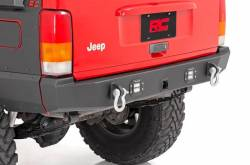 Rough Country - Bumpers and Accessories - Rough Country - ROUGH COUNTRY JEEP REAR LED BUMPER (84-01 CHEROKEE XJ) - 110504