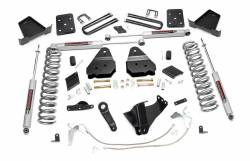 2005-16 Ford F250, F350 Super Duty - Rough Country - Rough Country - Rough Country 6IN FORD SUSPENSION LIFT KIT (15-16 F-250 4WD) - 548.20-551.20-529.20-549.20