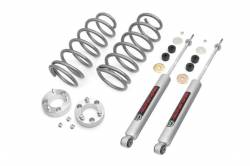 Toyota Pickup & 4Runner - Rough Country - Rough Country - Rough Country 3IN TOYOTA SUSPENSION LIFT KIT (03-09 4-RUNNER 4WD) - 76030_A