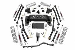 "Jeep - Jeep ZJ Grand Cherokee 93-98 - Rough Country - Rough Country 1993-1998 Jeep ZJ Grand Cherokee 4"" Long Arm Suspension  - 90222"