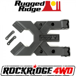 Jeep Wrangler JK 07-18 - Rear Bumpers & Tire Carriers - Rugged Ridge - Rugged Ridge HD TIRE CARRIER HINGE CASTING; for 07-18 JEEP WRANGLER JK - 11546.51
