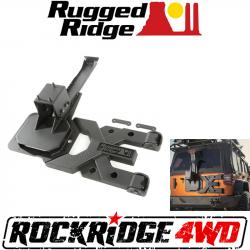 Jeep Wrangler JK 07-18 - Rear Bumpers & Tire Carriers - Rugged Ridge - Rugged Ridge HD TIRE CARRIER KIT; 07-18 JEEP WRANGLER JK - 11546.50