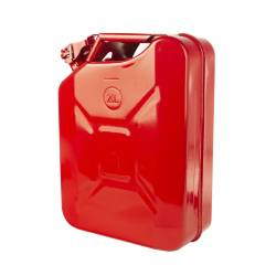 Winches & Recovery Gear - Winch Accessories - Rugged Ridge - Rugged Ridge JERRY CAN, RED, 20L, METAL - 17722.31