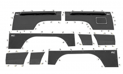 Body Armor - Front Fendor Armor - Rough Country - ROUGH COUNTRY Jeep Front & Rear Upper and Lower Quarter Panel Armor - (84-96 Cherokee XJ) - 10580