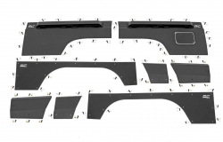 Body Armor - Front Fendor Armor - Rough Country - ROUGH COUNTRY Jeep Front & Rear Upper and Lower Quarter Panel Armor - (97-01 Cherokee XJ) - 10581