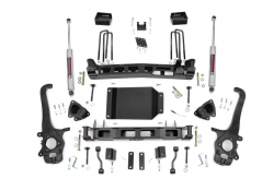 2004-2015 Nissan Titan - Rough Country - Rough Country - Rough Country 4IN SUSPENSION LIFT KIT (04-15 NISSAN TITAN) - 874.20