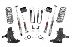 1988-98 Chevy / GMC 1/2 Ton Pickup - Rough Country - Rough Country - ROUGH COUNTRY 6IN GM SUSPENSION LIFT KIT (88-98 1500 PU 2WD) - 27130