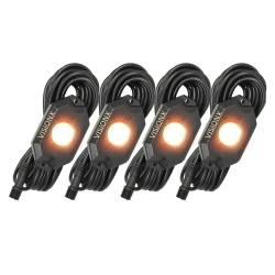 VISION X Lighting - VISION X 9 WATT LED ROCK LIGHT 4 POD KIT - HIL-RL4W - Image 4