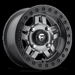 FUEL OFF-ROAD - Fuel Off-Road D918 Anza Beadlock 14x7 | 4x156 | Matte Anthracite - D9181470A544