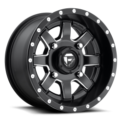 FUEL OFF-ROAD - Fuel Off-Road Maverick D538 | 14x7 - 4x136 | Black Milled | D5381470A654