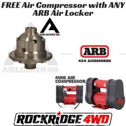 "ARB 4x4 Accessories - ARB AIR LOCKER Toyota Land Cruiser 9.5"", 30 Spline, Semi Float - RD153"