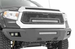 Bumpers & Tire Carriers - Rough Country - Rough Country TOYOTA HEAVY-DUTY FRONT LED BUMPER (14-18 TUNDRA)