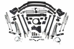 """F250 / F350 - 2017-2019 - BDS Suspension - BDS Suspension 8"""" 4-Link Arm Coil-Over Suspension System 