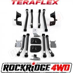 "Suspension Build Components - Control Arms & Mounts - TeraFlex - TERAFLEX JK/JKU Alpine Front Long Flexarm & 2"" Rear Stretch Kit"
