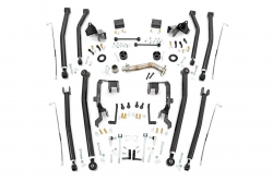 "Rough Country - ROUGH COUNTRY 4"" JEEP JKU LONG ARM UPGRADE KIT (07-18 WRANGLER JK 