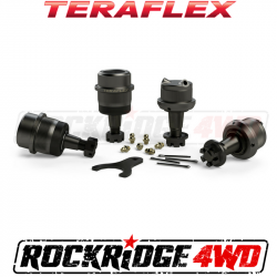 Shop By Brand - TeraFlex - TeraFlex - TERAFLEX TJ/LJ Dana 30 | Dana 44 Upper & Lower HD Ball Joints w/ Knurl - Set of 4