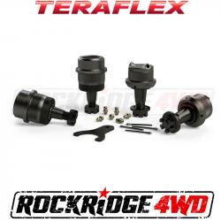 Differential & Axle - Ball Joints & Knuckle Service Kits - TeraFlex - TERAFLEX TJ/LJ Dana 30 | Dana 44 Upper & Lower HD Ball Joints w/ Knurl - Set of 4