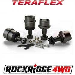 Differential & Axle - Ball Joints & Knuckle Service Kits - TeraFlex - TERAFLEX TJ/LJ Dana 30 | Dana 44 Upper & Lower HD Ball Joints w/out Knurl - Set of 4