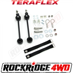 "Suspension Build Components - Sway Bars & Components - TeraFlex - TeraFlex Jeep Cherokee XJ / Grand Cherokee ZJ 2""-4"" Front Swaybar Quick Disconnect Kit   -1713090"