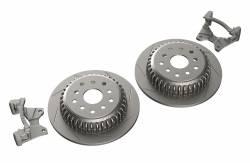 Brakes & Accessories - Jeep Wrangler JK 07-Present - TeraFlex - TERAFLEX JK/JKU Rear Performance Slotted Big Rotor Kit - 4304460