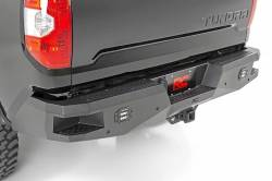 Bumpers & Tire Carriers - Rough Country - Rough Country TOYOTA HEAVY-DUTY REAR LED BUMPER (14-19 TUNDRA)