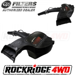 S&B Filters COLD AIR INTAKE FOR 2018-2019 FORD F-150 POWERSTROKE 3.0L *Select Filter*