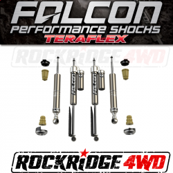 TOYOTA - 2000-17 Toyota Tundra - Falcon Shocks - TeraFlex 2007+ Toyota Tundra: Falcon Sport Leveling Shock Absorber System