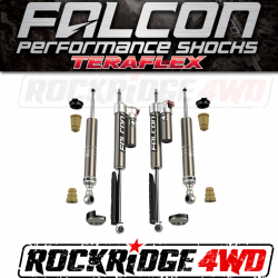 TOYOTA - 2000-17 Toyota Tundra - Falcon Shocks - TeraFlex 2007+ Toyota Tundra: Falcon Sport Tow/Haul Leveling Shock Absorber System