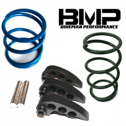 BIKEMAN PERFORMANCE - BIKEMAN PERFORMANCE 2017-UP RZR XP TURBO STAGE 1 CLUTCH KIT