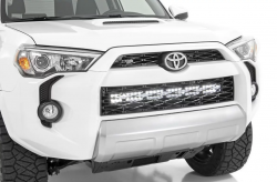 Grille - Rough Country - Rough Country TOYOTA 30IN LED HIDDEN GRILLE KIT (14-19 4-RUNNER) - 70786,70787,70788