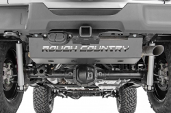 Body Armor - Undercarriage Armor - Rough Country - Rough Country JEEP MUFFLER SKID PLATE (18-19 WRANGLER JL) - 10599