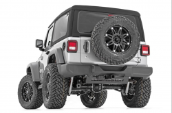 Rough Country - Rough Country JEEP MUFFLER SKID PLATE (18-19 WRANGLER JL) - 10599 - Image 4