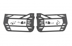 Doors & Tube Doors - Jeep Wrangler JK 07+ - Rough Country - Rough Country JEEP STEEL TUBE DOORS (07-18 WRANGLER JK) - 10586