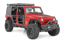 Rough Country - Rough Country JEEP STEEL TUBE DOORS (07-18 WRANGLER JK) - 10586 - Image 3
